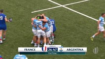 HIGHLIGHTS Argentina secure semi-final spot at World Rugby U20s