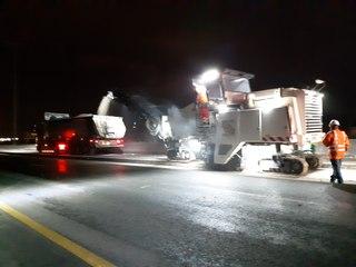 Travaux de nuit sur l'autoroute A10 entre Virsac et la rocade de Bordeaux