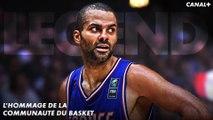 Tony Parker : L'hommage de la communauté Basket !