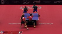 Tomokazu Harimoto/Hina H. vs Daniel Gonzalez/Melanie D. | 2019 ITTF Japan Open Highlights (Pre)
