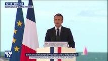 """""""Soyez fiers."""" Emmanuel Macron s'adresse aux proches des 3 sauveteurs de la SNSM morts aux Sables d'Olonne"""