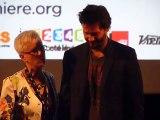 Keanu Reeves parle français - festival Lumière Lyon 2014