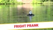 Fright prank