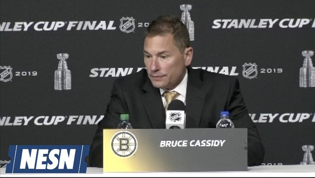 Bruce Cassidy On Bruins Stanley Cup Final Game 7 Loss