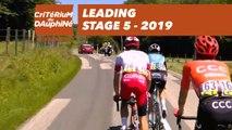 Leading - Étape 5 / Stage 5 - Critérium du Dauphiné 2019