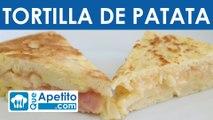 Receta de tortilla de patata fácil y casera | QueApetito