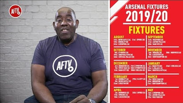 Arsenal's Premier League Fixtures 2019/20 - A Tough Start!