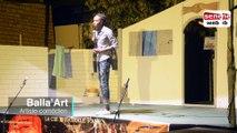 Festival képarou mame :Prestation du one man show Balla'Art
