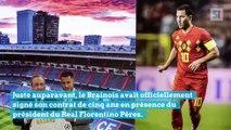 Eden Hazard présenté aux fans du Real Madrid ce 13 juin