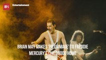 Brian May Pays His Dues To Freddie Mercury