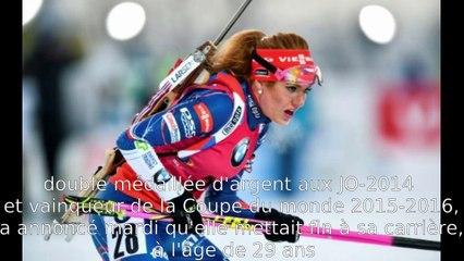 Biathlon Féminin | La retraire de la double championne du monde