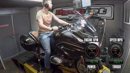 BMW's 2019 R 1250 RT Dyno Test
