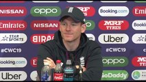 England's Eoin Morgan pre West Indies