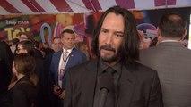 Toy Story 4 Premiere: Keanu Reeves