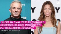 Jessica Biel Lobbies With Well-Known Anti-Vaccination Advocate