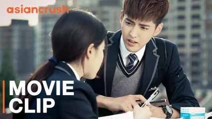 The hottest guy in school wants to be my math tutor | Liu Yifei and Kris Wu in So Young 2: Never Gone