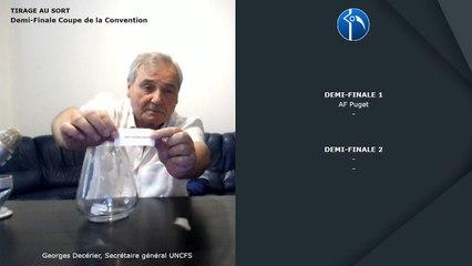 Tirage au sort Demi-Finale Coupe de la Convention 2019