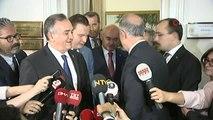 Milli Savunma Bakanı Hulusi Akar, MHP Grup Başkanvekili Erkan Akçay ile görüştü