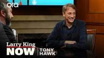 Skateboarder Tony Hawk discusses the simple way he went from amateur to pro