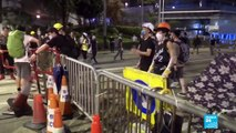 Hong Kong extradition bill: police fire tear gas, rubber bullets to disperse crowds