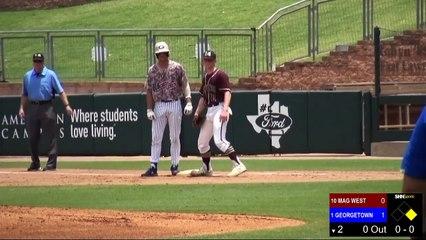 High School Baseball - Magnolia West Mustangs vs. Georgetown Eagles - 6-1-2019 - GAME 3