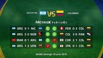 Previa partido entre Argentina y Colombia Jornada 1 Copa América
