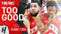 Kyle Lowry - Fred VanVleet Full Game 6 Highlights vs Warriors 2019 NBA Finals - 48 Pts Combined-