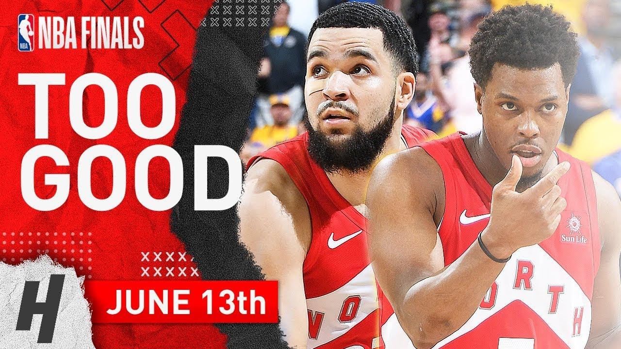 Kyle Lowry – Fred VanVleet Full Game 6 Highlights vs Warriors 2019 NBA Finals – 48 Pts Combined-