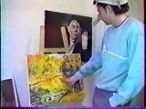 1993 Patrick Guillou imitant Olivier Dall'Oglio / artiste peintre