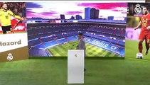 """Eden Hazard: """"Era mi sueño desde pequeño jugar con el Real Madrid"""""""