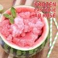 Frozen pastèque au rosé