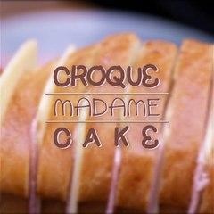 Cake croque-madame