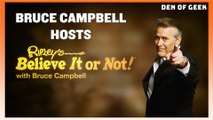 Ripley's Believe It or Not! | Sit Down Interview With Bruce Campbell