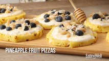 How to Make Pineapple Fruit Pizzas