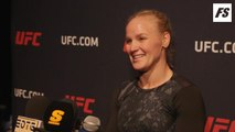 UFC 238: Valentina Shevchenko open workout interview