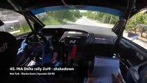Croiser une voiture pendant un rallye