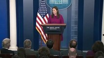 Trump: Sarah Sanders To Resign As White House Press Secretary By End Of Month
