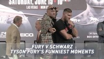 I'm only human after all! - Tyson Fury's funniest moments