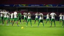 Bolivia train ahead of Copa America opener v hosts Brazil