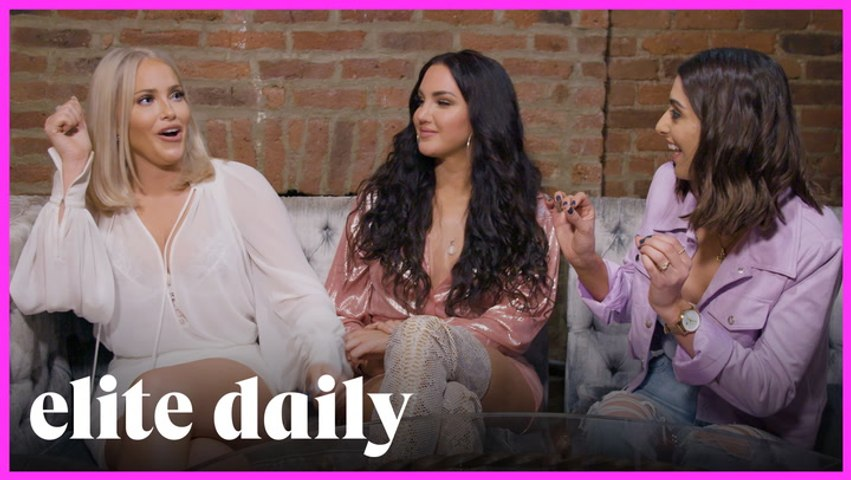 Take Me With You: Olivia Pierson & Natalie Halcro From 'Relatively Nat & Liv' Get A Tarot Reading