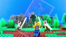 LEGO Star Wars Rey Meets Luke Skywalker STOP MOTION W/ Rey & Luke | LEGO Star Wars | By LEGO Worlds