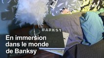 Les fresques de Banksy reconstituées dans une exposition à Paris