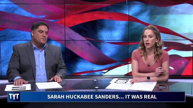 Sarah Huckabee Sanders Is DONE