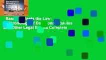 Baseball Meets the Law: A Chronology of Decisions, Statutes and Other Legal Events Complete