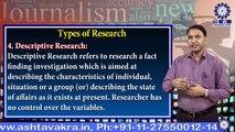 Dr. Shambhoo Sharan Gupta  || Types of Research || TIAS || TECNIA TV
