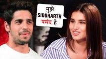 Tara Sutaria In LOVE With Sidharth Malhotra's Eyes   Tara को पसंद है Sidharth की ये खूबी