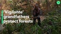 Abuelos 'justicieros' protegen los bosques