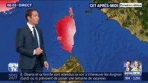 Comment expliquer les 40°C attendus en Corse ce vendredi?