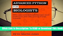 Download Advanced Python for Biologists PDF - video dailymotion