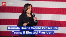 Kamala Harris Makes A Stunning Campaign Promise